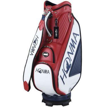 本間ゴルフ PRO REPLICA プロモデル レプリカ メンズ キャディバッグ CB-12003 RED/NY レッド/ネイビー 2020年モデル レッド/ネイビー(RED/NY)