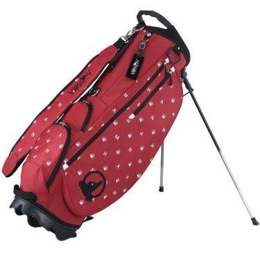 本間ゴルフ 軽量 ユニセックス スタンド キャディバッグ CB-12010 RED レッド 2020年モデル レッド(RED)