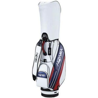 本間ゴルフ スポーツモデル メンズ キャディバッグ CB-12016 WH/NY ホワイト/ネイビー