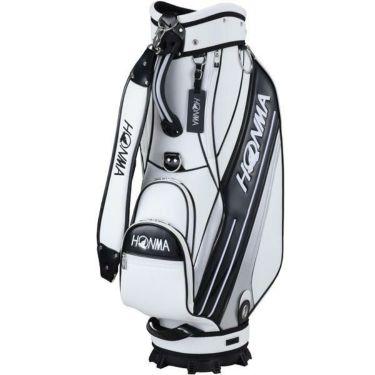 本間ゴルフ スポーツモデル メンズ キャディバッグ CB-12016 WH/BK ホワイト/ブラック