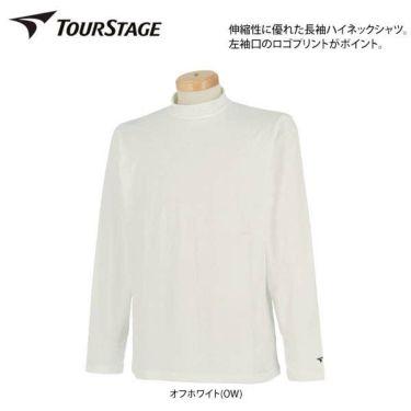 ツアーステージ TOURSTAGE メンズ 裏起毛 長袖 ハイネックシャツ QTMF1F 商品詳細3