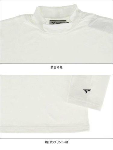 ツアーステージ TOURSTAGE メンズ 裏起毛 長袖 ハイネックシャツ QTMF1F 商品詳細5