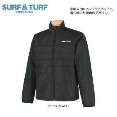 サーフ&ターフ  SURF&TURF メンズ 中綿 長袖 ハイネック ブルゾン 9FW-STF3 商品詳細3