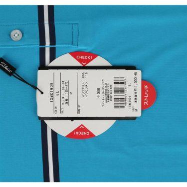 タイトリスト Titleist メンズ ボーダー柄 半袖 ボタンダウン ポロシャツ TSMC1909 2019年モデル 商品詳細6