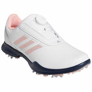 アディダス adidas ドライバー ボア 3 レディース ソフトスパイク ゴルフシューズ EE9349 2020年モデル 商品詳細2