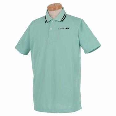 ブリヂストンゴルフ TOUR B メンズ ロゴ刺繍 メッシュ生地 半袖 ポロシャツ NGM01A 2019年モデル サックス(SA)