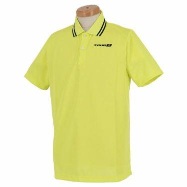 ブリヂストンゴルフ TOUR B メンズ ロゴ刺繍 メッシュ生地 半袖 ポロシャツ NGM01A 2019年モデル イエロー(YE)