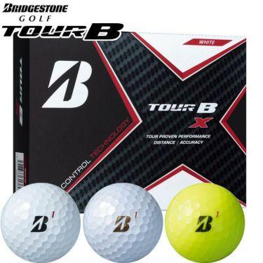 ブリヂストン TOUR B X ツアーB エックス 2020年モデル ゴルフボール 1ダース(12球入り)