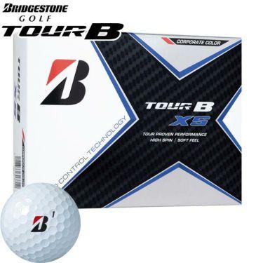 ブリヂストン TOUR B XS ツアーB エックスエス コーポレートカラー 2020年モデル ゴルフボール 1ダース(12球入り)