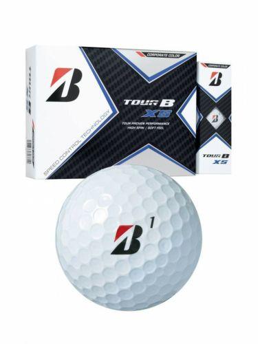 ブリヂストン TOUR B XS ツアーB エックスエス コーポレートカラー 2020年モデル ゴルフボール 1ダース(12球入り) 商品詳細2