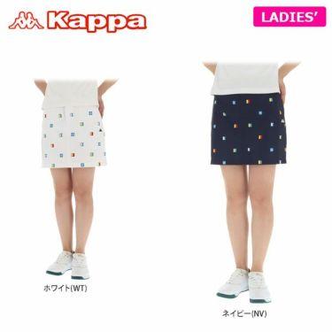 【ss特価】△カッパ Kappa レディース 総柄 撥水 ストレッチ スカート KG922SK74 2019年モデル 詳細1