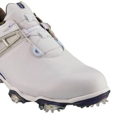 フットジョイ ツアーX ボア メンズ ソフトスパイク ゴルフシューズ 55412 ホワイト+ネイビー 商品詳細8