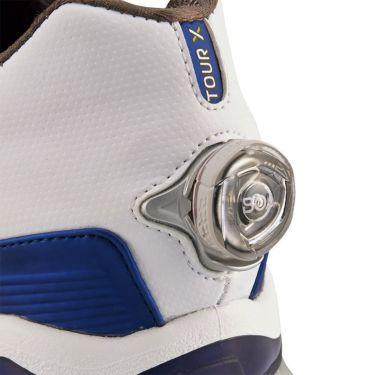 フットジョイ ツアーX ボア メンズ ソフトスパイク ゴルフシューズ 55412 ホワイト+ネイビー 商品詳細9