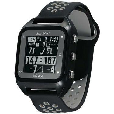 ショットナビ 腕時計型GPSゴルフナビ Shot Navi HuG-FW ブラック
