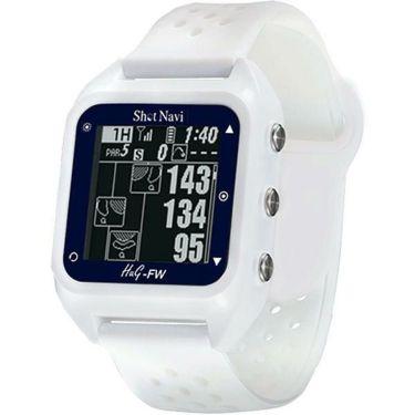 ショットナビ 腕時計型GPSゴルフナビ Shot Navi HuG-FW ホワイト
