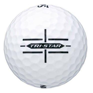ダンロップ スリクソン TRI-STAR トライスター 2020年モデル ゴルフボール 1ダース(12球入り) ホワイト 商品詳細3