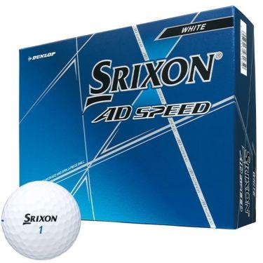 ダンロップ スリクソン AD SPEED ADスピード 2020年モデル ゴルフボール 1ダース(12球入り) ホワイト