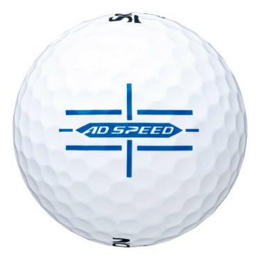 ダンロップ スリクソン AD SPEED ADスピード 2020年モデル ゴルフボール 1ダース(12球入り) ホワイト 商品詳細3