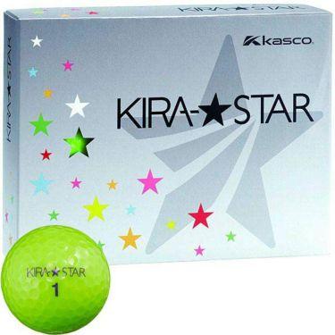 キャスコ KIRA STAR キラスター2 ゴルフボール 1ダース(12球入り) ライム