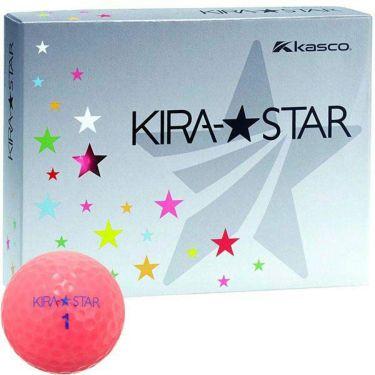 キャスコ KIRA STAR キラスター2 ゴルフボール 1ダース(12球入り) ピンク