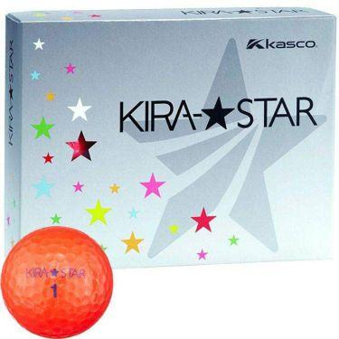 キャスコ KIRA STAR キラスター2 ゴルフボール 1ダース(12球入り) レッド
