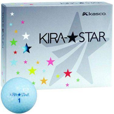 キャスコ KIRA STAR キラスター2 ゴルフボール 1ダース(12球入り) アクア