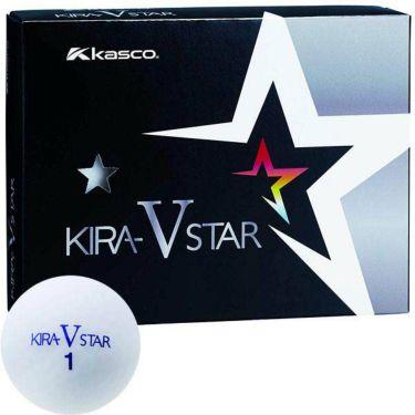 キャスコ KIRA STAR V キラスターV ゴルフボール 1ダース(12球入り) ホワイト