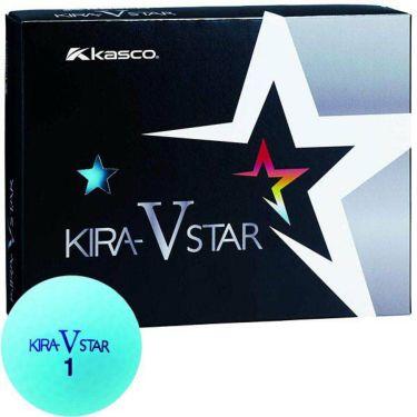 キャスコ KIRA STAR V キラスターV ゴルフボール 1ダース(12球入り) アクア