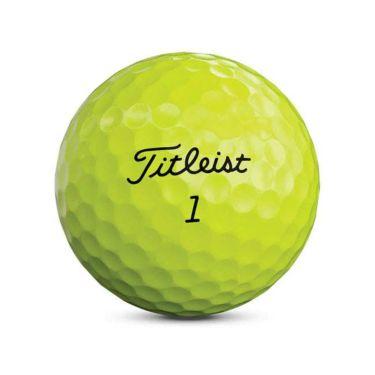 タイトリスト TOUR SOFT ツアーソフト 2020年モデル ゴルフボール 1ダース(12球入り) イエロー 商品詳細3