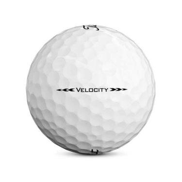 タイトリスト VELOCITY ベロシティ 2020年モデル ゴルフボール 1ダース(12球入り) ホワイト 商品詳細4