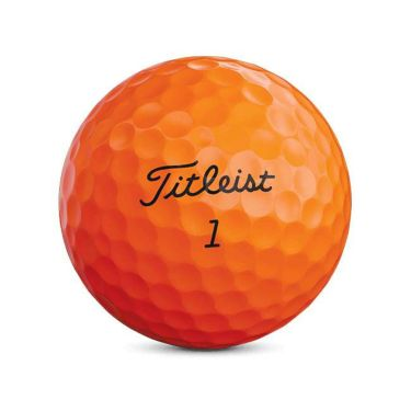タイトリスト VELOCITY ベロシティ 2020年モデル ゴルフボール 1ダース(12球入り) オレンジ 商品詳細3