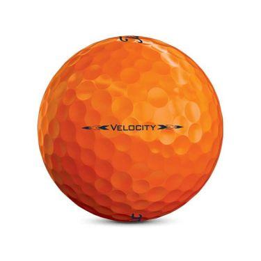 タイトリスト VELOCITY ベロシティ 2020年モデル ゴルフボール 1ダース(12球入り) オレンジ 商品詳細4