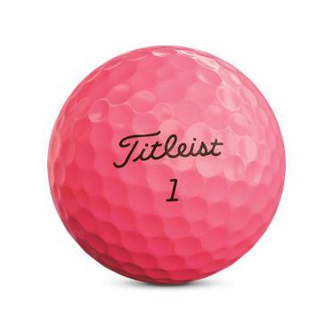 タイトリスト VELOCITY ベロシティ 2020年モデル ゴルフボール 1ダース(12球入り) ピンク 商品詳細3