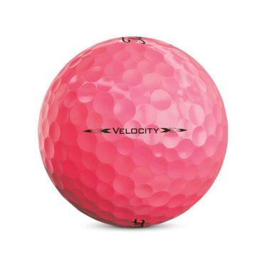 タイトリスト VELOCITY ベロシティ 2020年モデル ゴルフボール 1ダース(12球入り) ピンク 商品詳細4