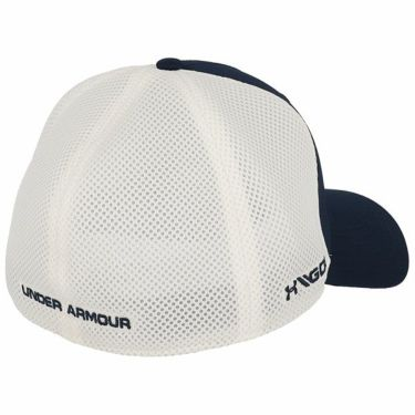 アンダーアーマー UNDER ARMOUR メンズ マイクロスレッド メッシュ キャップ 1305017 408 アカデミー/ホワイト 商品詳細2