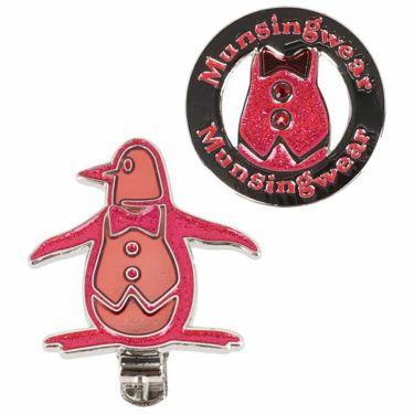 マンシングウェア Munsingwear レディース クリップマーカー MQCPJX51 RD00 レッド