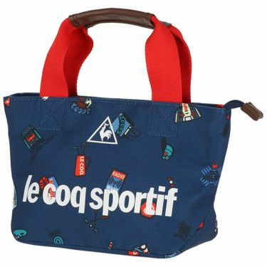 ルコック Le coq sportif レディース 総柄 ラウンドポーチ QQCPJA42 NV00 ネイビー 2020年モデル