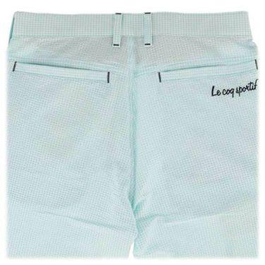 ルコック Le coq sportif メンズ サッカー生地 ギンガムチェック ショートパンツ QGMNJD51 2019年モデル 商品詳細8