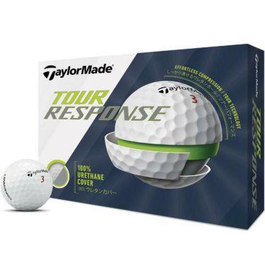 テーラーメイド TOUR RESPONSE ツアーレスポンス ゴルフボール 2020年モデル 1ダース(12球入り) ホワイト