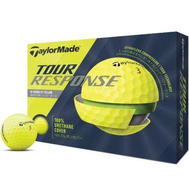 テーラーメイド TOUR RESPONSE ツアーレスポンス ゴルフボール 2020年モデル 1ダース(12球入り) イエロー