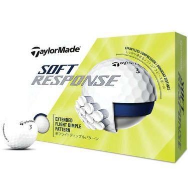テーラーメイド SOFT RESPONSE ソフトレスポンス ゴルフボール 2020年モデル 1ダース(12球入り) ホワイト