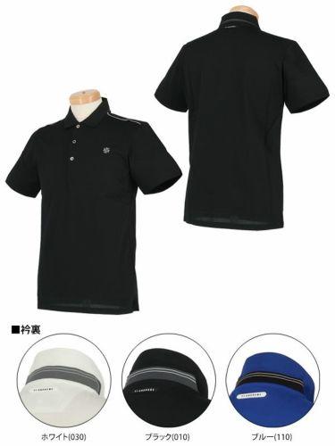 セントアンドリュース St ANDREWS メンズ ロゴ刺繍 半袖 ポロシャツ 042-9160251 2019年モデル 商品詳細6