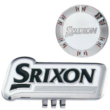スリクソン SRIXON クリップマーカー GGF-15334 ホワイト 2020年モデル