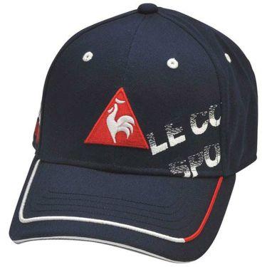 ルコック Le coq sportif メンズ シャドーロゴ刺繍 コットンツイル キャップ QGBPJC00 NV00 ネイビー 2020年モデル