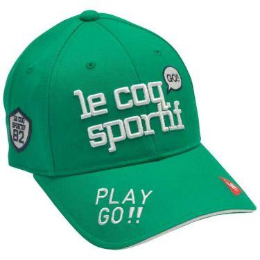 ルコック Le coq sportif レディース エンブロイダリーロゴ コットンツイル キャップ QGCPJC00 GR00 グリーン 2020年モデル