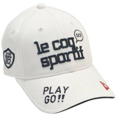ルコック Le coq sportif レディース エンブロイダリーロゴ コットンツイル キャップ QGCPJC00 WH00 ホワイト 2020年モデル