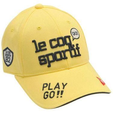 ルコック Le coq sportif レディース エンブロイダリーロゴ コットンツイル キャップ QGCPJC00 YL00 イエロー 2020年モデル