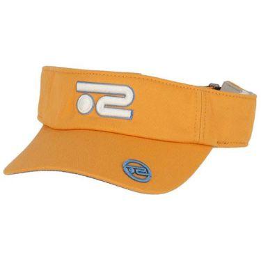 ロサーセン Rosasen 立体ロゴ刺繍 ツイル メンズ サンバイザー 046-52232 34 オレンジ 2020年モデル
