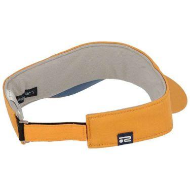 ロサーセン Rosasen 立体ロゴ刺繍 ツイル メンズ サンバイザー 046-52232 34 オレンジ 2020年モデル 商品詳細2