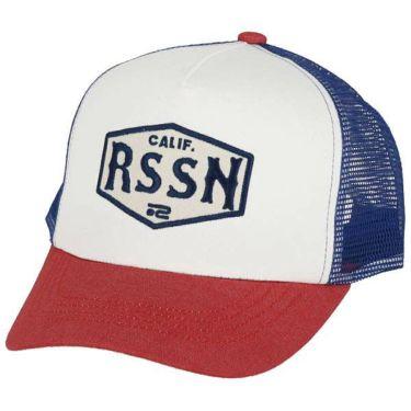 ロサーセン Rosasen ツイル メッシュ メンズ キャップ 046-52332 05 ホワイト 2020年モデル